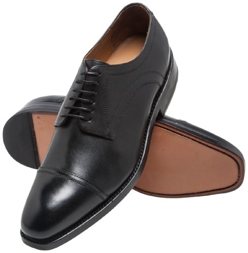 Gordon & Bros Herren Havret Derby, Schwarz (black), 43 EU