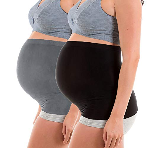 Product Image of the Womens Maternity Belly Band for Pregnancy Non-slip Silicone Stretch Pregnancy...