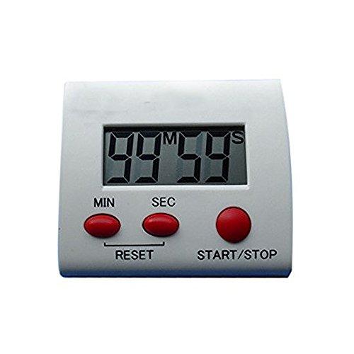 nikgic portátil doméstica de aplicación Digital Kitchen temporizador, Subir Alarma Cronómetro Soporte Magnético del Donante Cuenta hacia arriba o hacia abajo para cocinar, hornear, asar