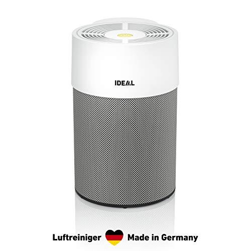IDEAL - luchtreiniger AP40 PRO tot 50m2 | Made in Germany | HEPA-filter en actieve koolfilter, CADR 434 m3/h, 99,99% filtervermogen (fijnstof, allergenen, pollen, bacteriën, sigarettenrook.)