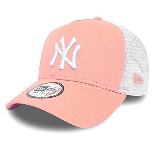 New Era Trucker Mesh Cap im Bundle mit UD Bandana New York Yankees NY Pink/White SO26