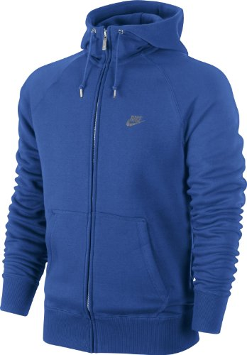 Nike Herren Sweatjacke AW 77 Hybrid Full Zip Hoody, Game royal, S, 528705