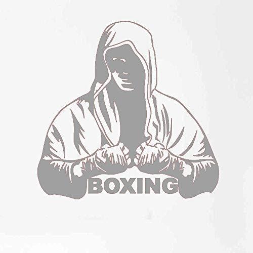 guijiumai Dctal Boxhandschuh Aufkleber Kick Boxer Spielen Auto Aufkleber Combat Poster Vinyl Striker Wandtattoos Parede De 4 58x58 cm