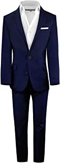 Boys' First Class Slim Fit Suits Lightweight Style. Presented by Baby Muffin