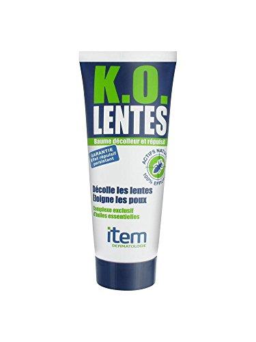 Baume& répulsif K.O. lentes+ peigne