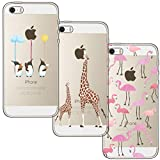 [3 Stück] iPhone 5 Hülle, iPhone 5S Hülle, iPhone SE