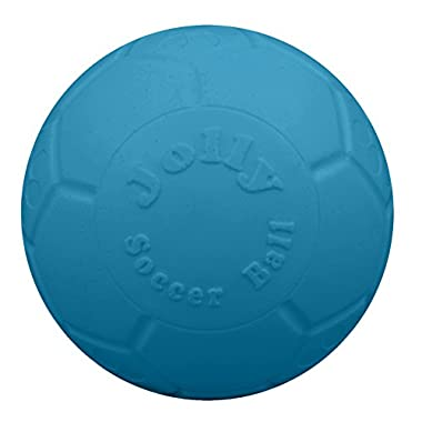 Jolly Pets 8  Soccer Ball, Ocean Blue, Large/X-Large