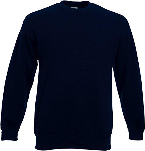 Fruit of the Loom - Sweat-Shirt - Col Ras du Cou - Manches Longues Homme - Bleu - Medium