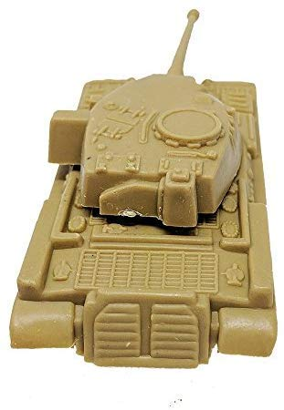 Toy Essentials 24 Piece Green Desert Gray Army Battle Tanks Play Set