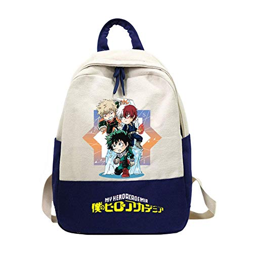 Mini Office Depot My Hero Academia Anime rucksack umhängetasche laptoptasche rucksack(H01)