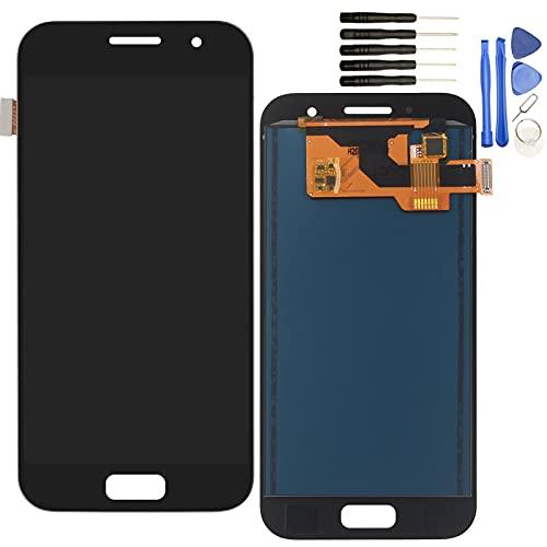 YHX-OU per Samsung Galaxy A3 2017 A320 SM-A320F di Riparazione e Sostituzione LCD Display + Touch Screen Digitizer con Utensili Inclusi (Nero)