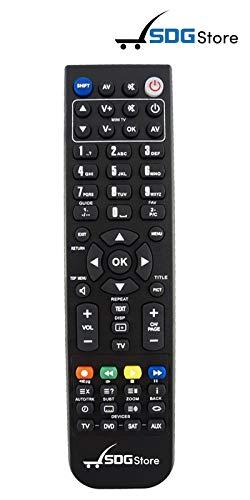 SDGstore Telecomando di Ricambio per TELESYSTEM ts9000-tv