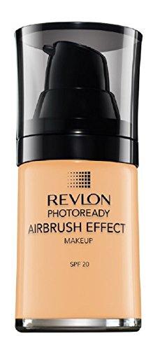 Revlon PhotoReady Airbrush Effect - Base de maquillaje, color beige
