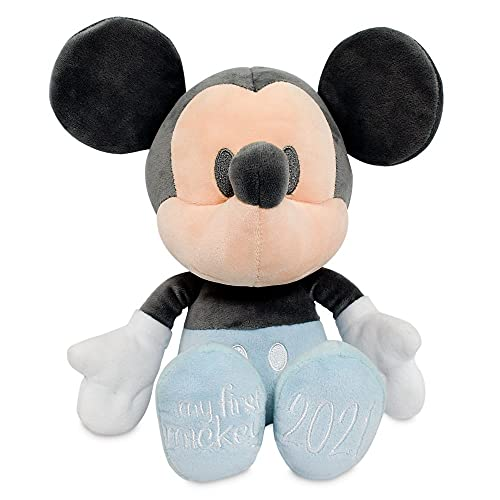 Disney Mickey Mouse ''My First Mickey 2021'' Plush for Baby – Small 4 ¾''