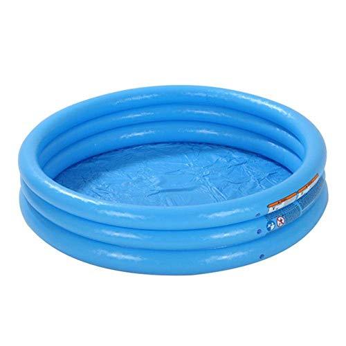 LIUCHANG Piscina Inflable Redondo for niños, niño Inflable portátil/niños Pequeña Bomba Pool, Kiddie Paddling Pool Indoortoutdoor Toyler Water Game Play Center liuchang20 (Size : A)