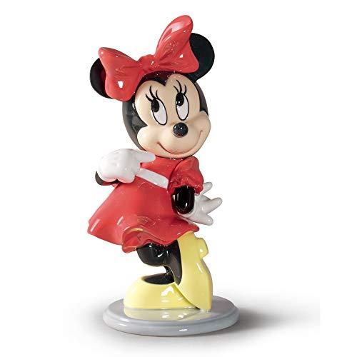 LLADRÓ Figur Minnie Mouse. Minnie Mouse (Disney). Porzellan.