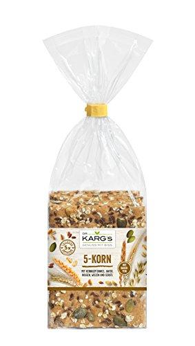 Dr. Karg 5-Korn Feinschmecker-Knäckebrot, 5er Pack (5 x 200 g)
