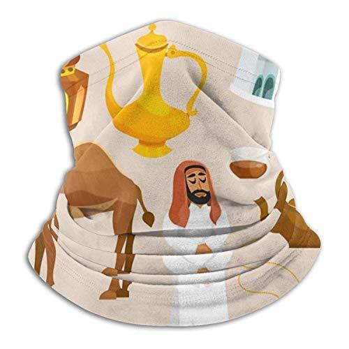 SARA Nell Fashion Design Neck Gaiter Headwear Face Sun Mask Magic Scarf Bandana