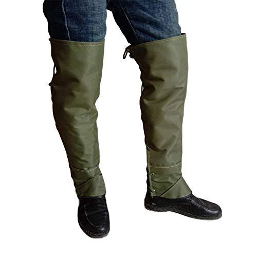 XGG Gamaschen - Schlangengamaschen Unterschenkel Rüstung 1 Paar Safety Snake Legging Doppelte Segeltuch Gamasche Schuhe Decken wasserdichte Stiefel Schutz für Outdoor-Wandern Schnee Sand Schlange