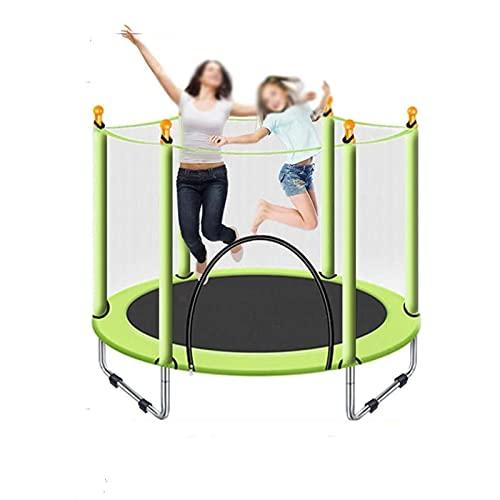 HYDT 4.5 pies Trampolín para Adultos y niños Trampolines al Aire Libre para Actividades recreativas de Deportes Infantiles o al Aire Libre para niños