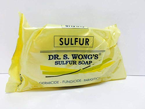 Sulfur Soap Dr Wong's 135 Grams As Packed