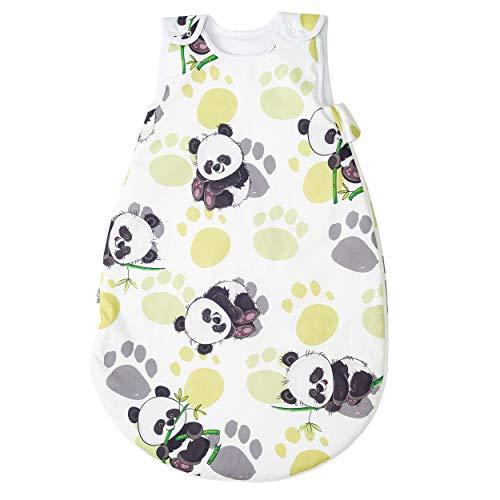 Bambú panda Pati'Chou 100% Algodón Sacos de dormir para bebés 12-24 meses (90 cm, 0.5 tog) - verano