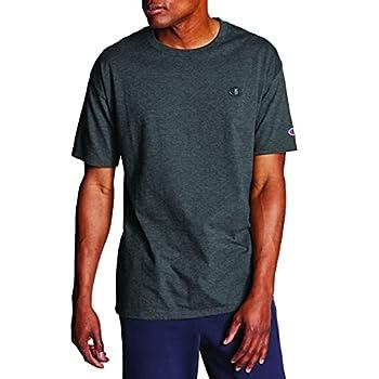 Champion Men s Classic Jersey T-Shirt Granite Heather XL
