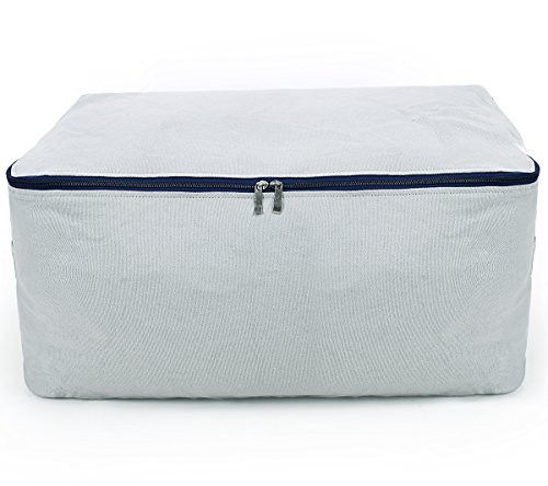 Big Size Soft Storage Bag, All Bulky Items, Washable, Gray