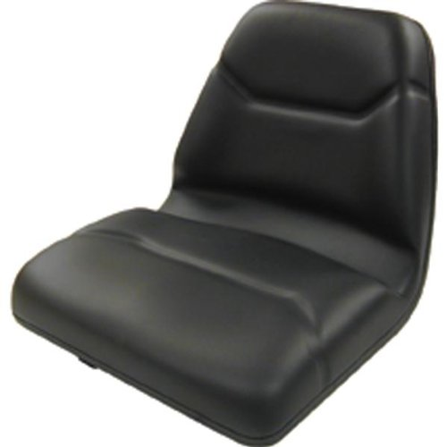 A & I Deluxe Midback Utility Lawn Mower Seat - Black, Model Number TM555BL