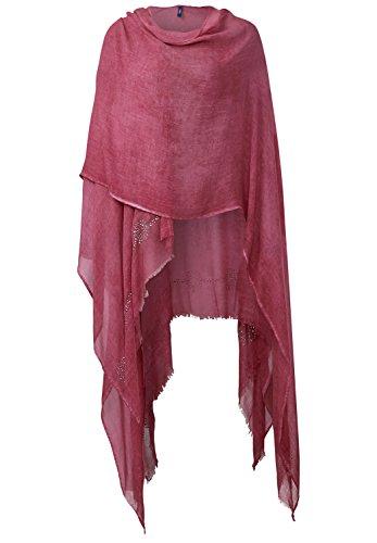 Cecil Decorative Poncho, crimson red, rot((30567)), Gr. A