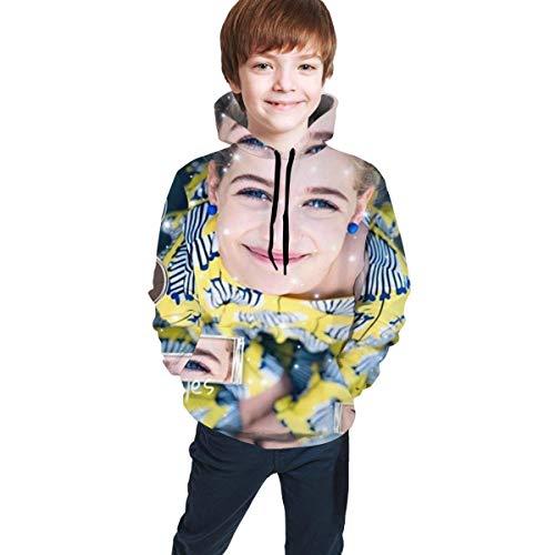 maichengxuan Norris Nuts - Sudadera con capucha para adolescentes