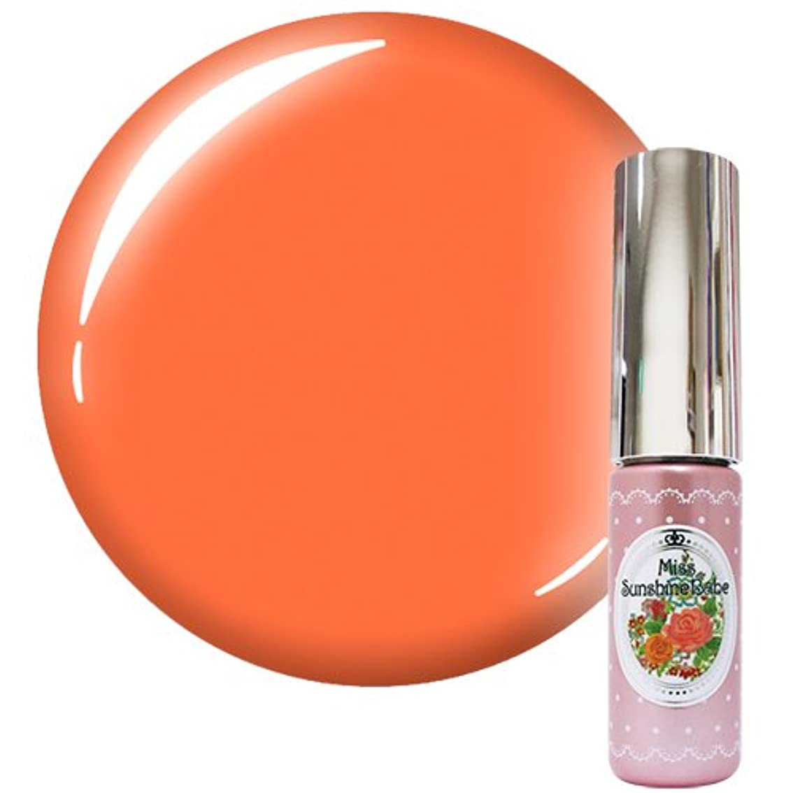 溶融クラブお手伝いさんMiss SunshineBabe ミス サンシャインベビー カラージェル MC-33 5g サマーパステルオレンジ
