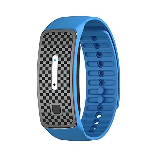 Pulseras Repelentes De Mosquitos,Ultrasonido Antimosquitos Reloj ElectróNico Bandas,con Carga USB/Impermeable/PortáTil,Apto para Adultos Y NiñOs
