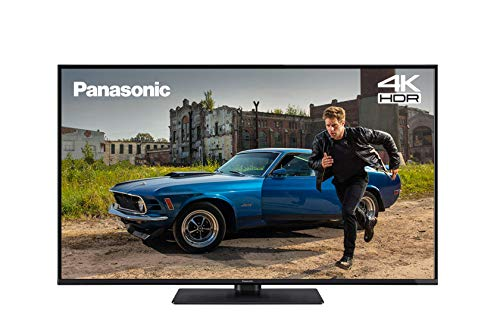 Panasonic TX-43GX551 43 inch 4K Ultra HD HDR Smart TV with Freeview Play, Black (2019)