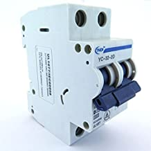 Yuco YC-32-2D Supplemental Protector Din Rail Miniature Circuit Breaker 3P 32A D Curve TUV UI 1077 European Design CSA C22.2