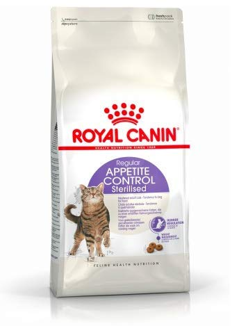 Maltbys' Stores 1904 Limited 3.5kg Royal Canin REGULAR APPETITE CONTROL STERILISED Size Health Nutrition Cat Food