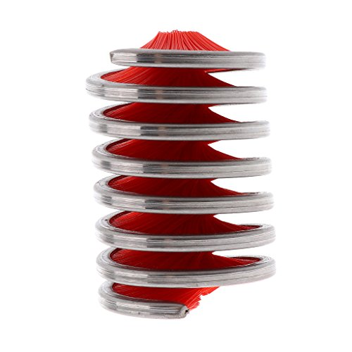 Sharplace Seilbürste Seile Reinigungsbürste Klettern Schnur Reinigungswerkzeug, rot