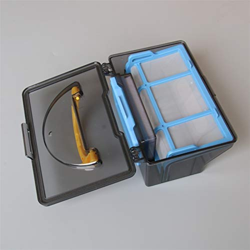 without FMN-HOME, 1 Set Staubbehälter für Ilife V5s V3 V5 V5s Pro V50 Roboter-Staubsauger Teile Zubehör Hepa Filter X1 + Effizientes FilterX1