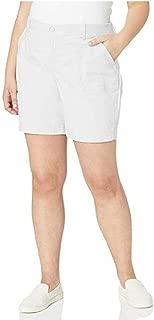 Gloria Vanderbilt Women's Ribbed Waistband Utility Short