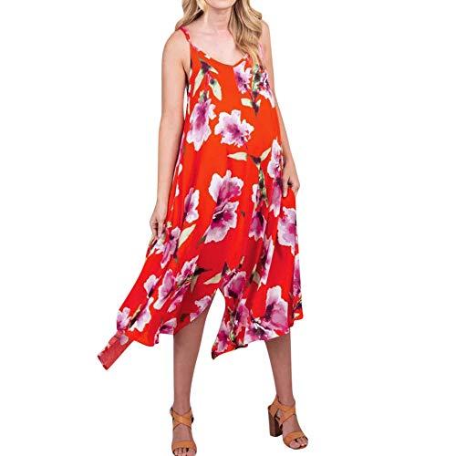 Schwangere Kurzarm Umstandskleidung Umstandskleider Sommer Blumen Ärmellos V-Ausschnitt Lässig Sommerkleid Sexy Schwangerschaftskleidung Frauen Schlinge Kleid-A_S