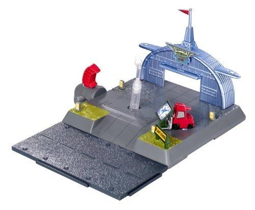 Mattel BFM39 - Disney Planes Spielset zum verbinden Skippers Flugschule