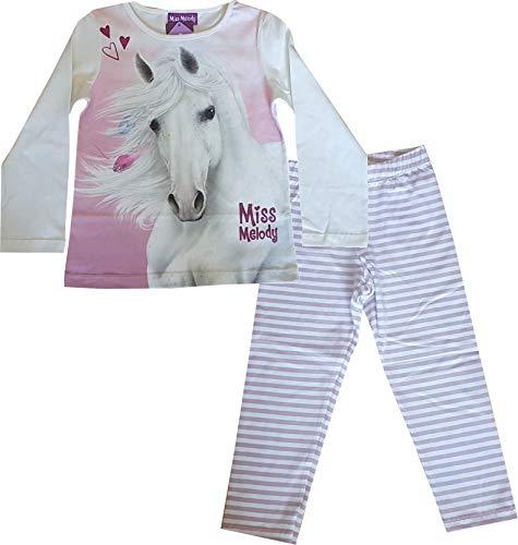 Miss Melody Mädchen Schlafanzug Pferd 99416 (116)
