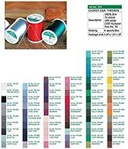 Clover 701 Silk Thread 50 Weight 109yds Flesh (6 Pack)