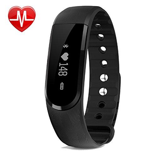 bester Test von willful fitness tracker Fitness Aktivitätsmonitor mit Herzfrequenz, absichtliche körperliche Aktivität Armband Wasserdichtes Armband mit Schrittzähler Sport…