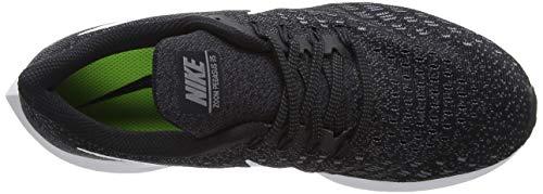 Nike Men's Air Zoom Pegasus 35 Running Shoe, Black/White/Gunsmoke/Oil Grey, 8.5 4