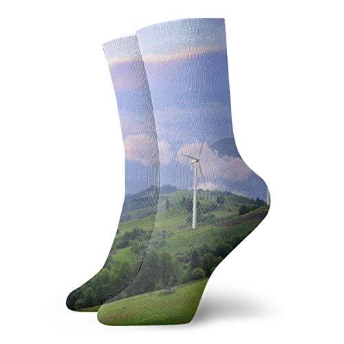 Eco Power - Calcetines de viento con turbinas de generación de electricidad,...