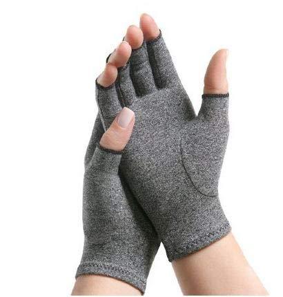IMAK Compression Arthritis Gloves- Premium Arthritic Joint Pain Relief Hand Gloves for Rheumatoid & Osteoarthritis - Ease of Use Seal from Arthritis Foundation