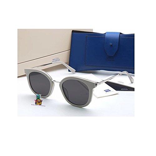 day spring online shop gafas de sol hombre mujer Fashion New Gentle V brand man monste GM DIM Sunglasses Eyeglasses -white black
