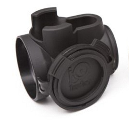 Tango Down iO Protective Optic Cover for Trijicon MRO iO-002 Made In The USA (Black)
