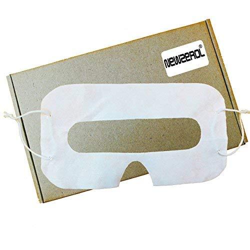 [100 Stück] Orzero® Ersatz für HTC Vive/Oculus Rift/Rift S/Quest/Ausrüstung VR/Google Cardboard/Oculus GO Einweg-Augenklappen-Gesichtsabdeckung für Virtual Reality-Headset-Zubehör